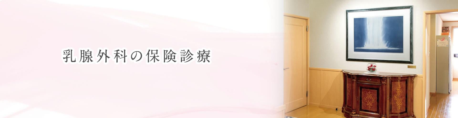 乳腺外科の保険診療